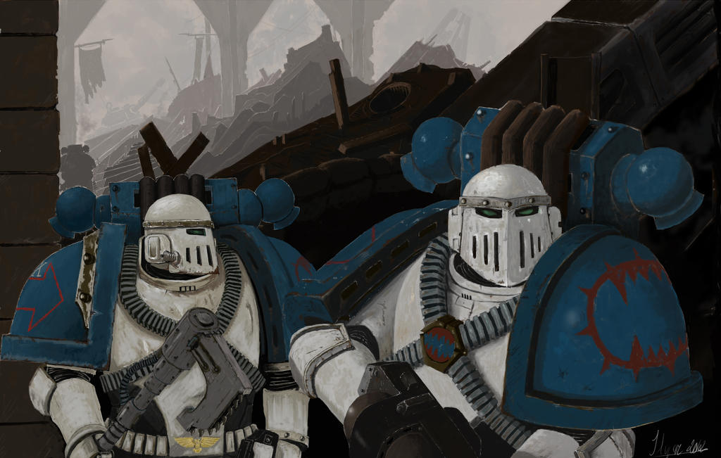 [W30K] Legiones Astartes XII : World Eaters Loyal_world_eater_by_ilqar-d5nkzzs