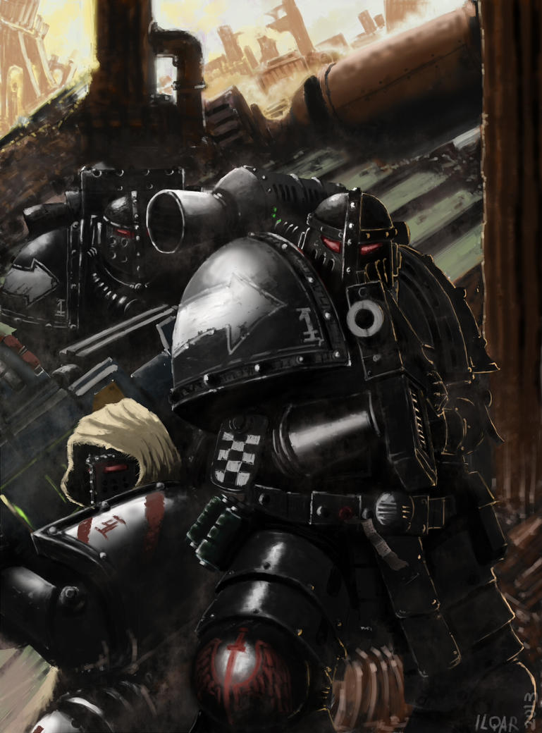Pre Heresy Dark Angels by Ilqar