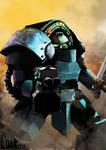 Pre Heresy Alpha Legion Tartaros terminator