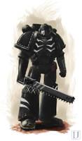 Commission 2.XXth Legiones Astartes, the Predators by Ilqar