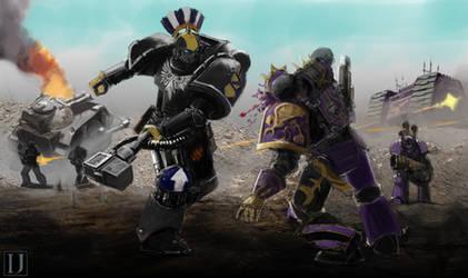Iron Fists.Commission