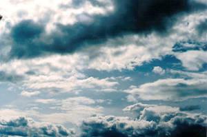 Sky of Blue Stock by slayerchick303-stock