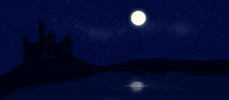 Night sky by SerenaDream