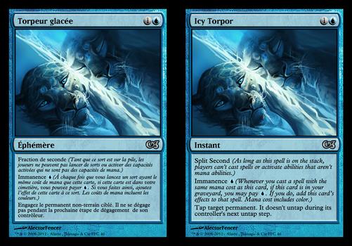 Icy torpor