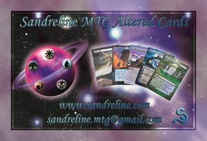 Business Card For Sandreline