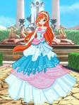 Alis in ball dress