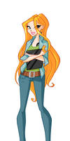 Alice cosplay Sam Winchester by BrokenAmylee