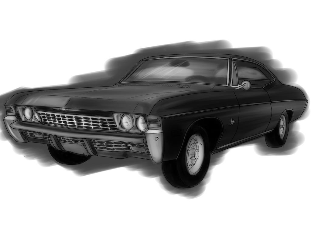 Chevrolet Impala 1967 by BrokenAmylee