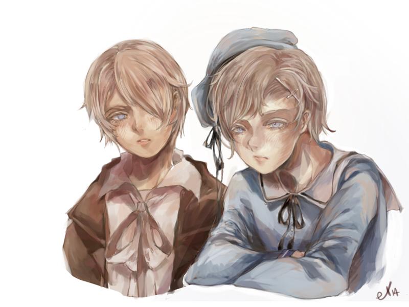 Emil and Luke by el2san