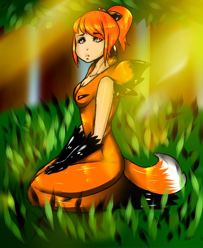 hunger games foxface by artisticwolfie on deviantart