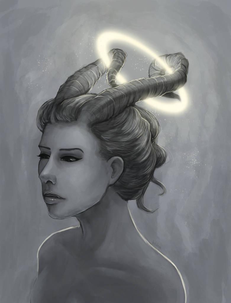Half demon half angel by leylaleya