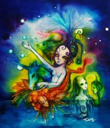 Aquatic Dream by nolipee