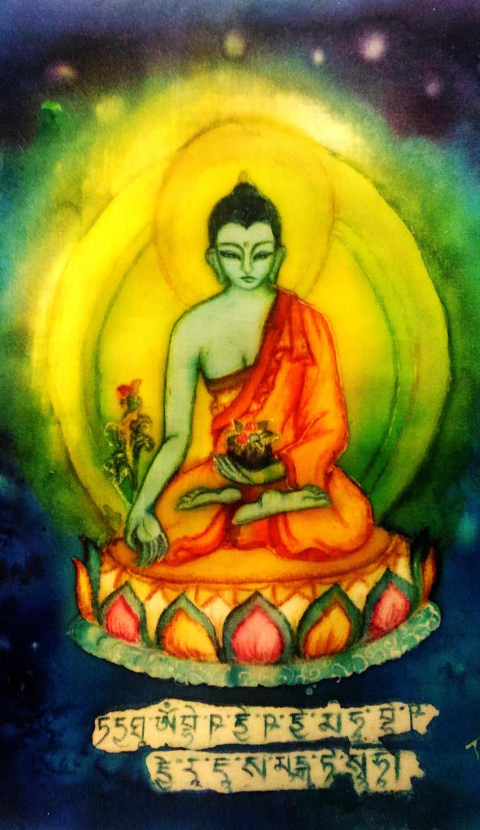 Medicine Buddha by nolipee