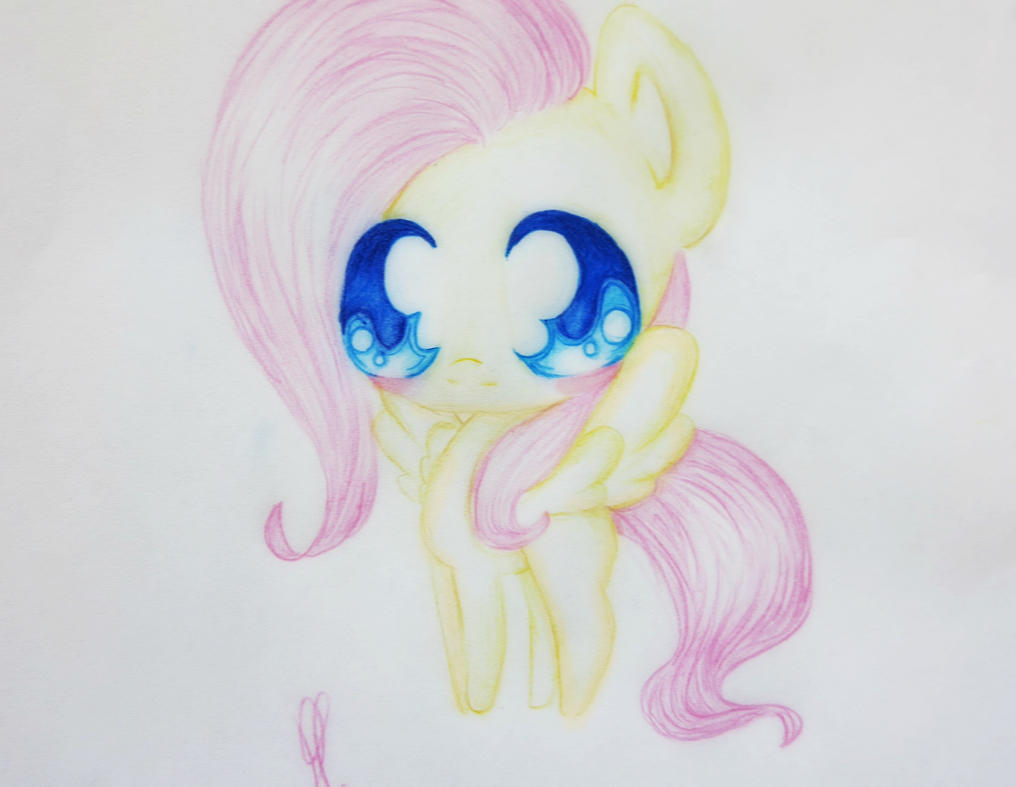 MLP Fluttershy chibi by Raspberry811 on DeviantArt