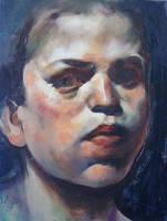 Portrait - 14102009 by AEnigm4