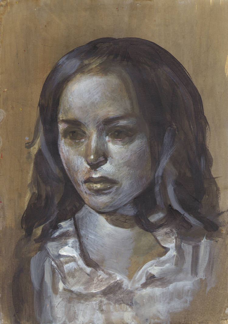 Portrait - 07012011 by AEnigm4