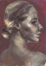 Portrait - 16022011 by AEnigm4