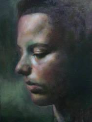 Portrait Danielle 070982011 by AEnigm4