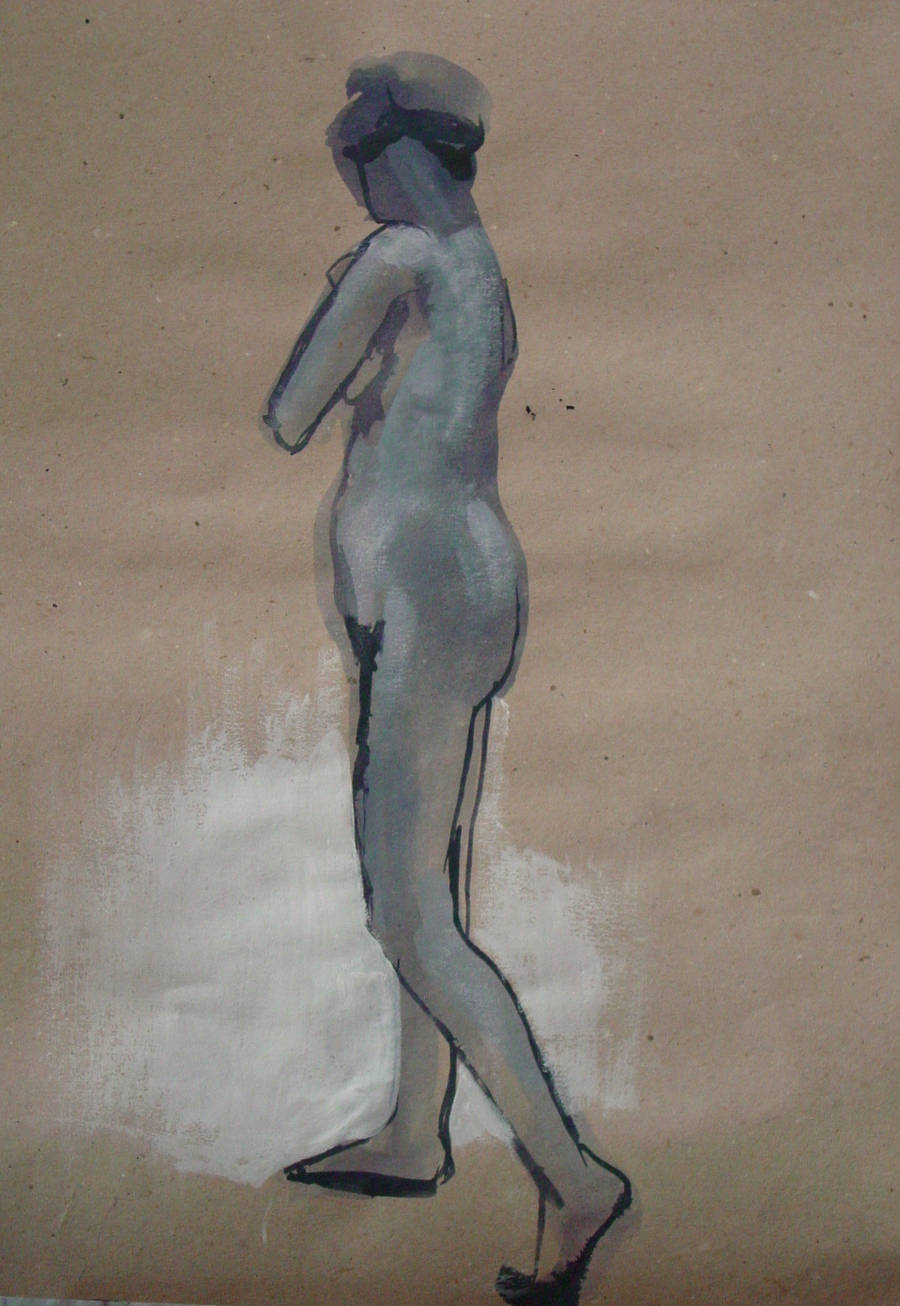 Nude model - Yvonne - 11072012 - 1 by AEnigm4