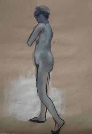 Nude model - Yvonne - 11072012 - 1