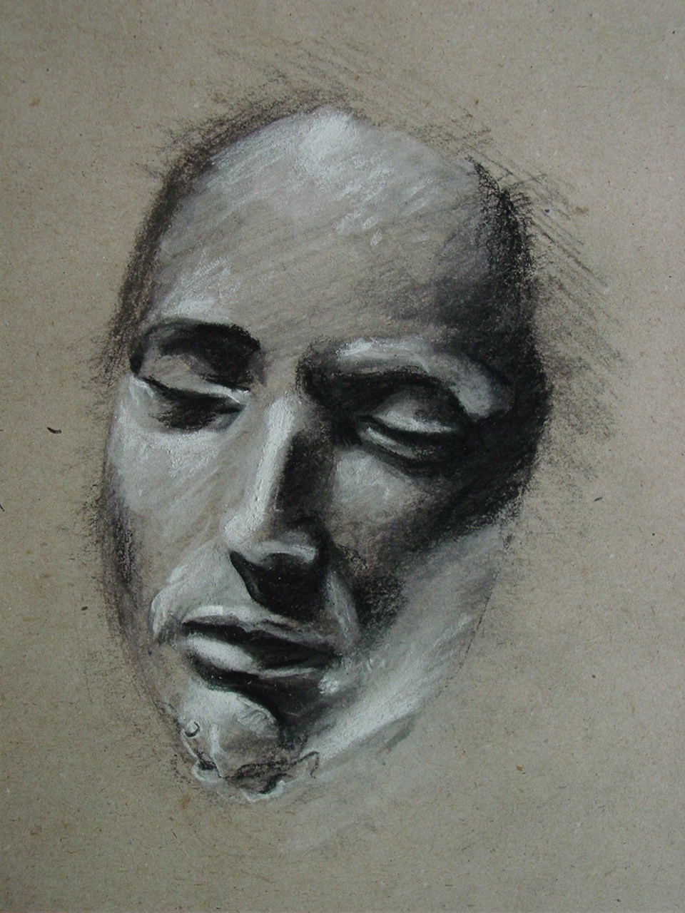 Michelangelo - Study Christ by AEnigm4