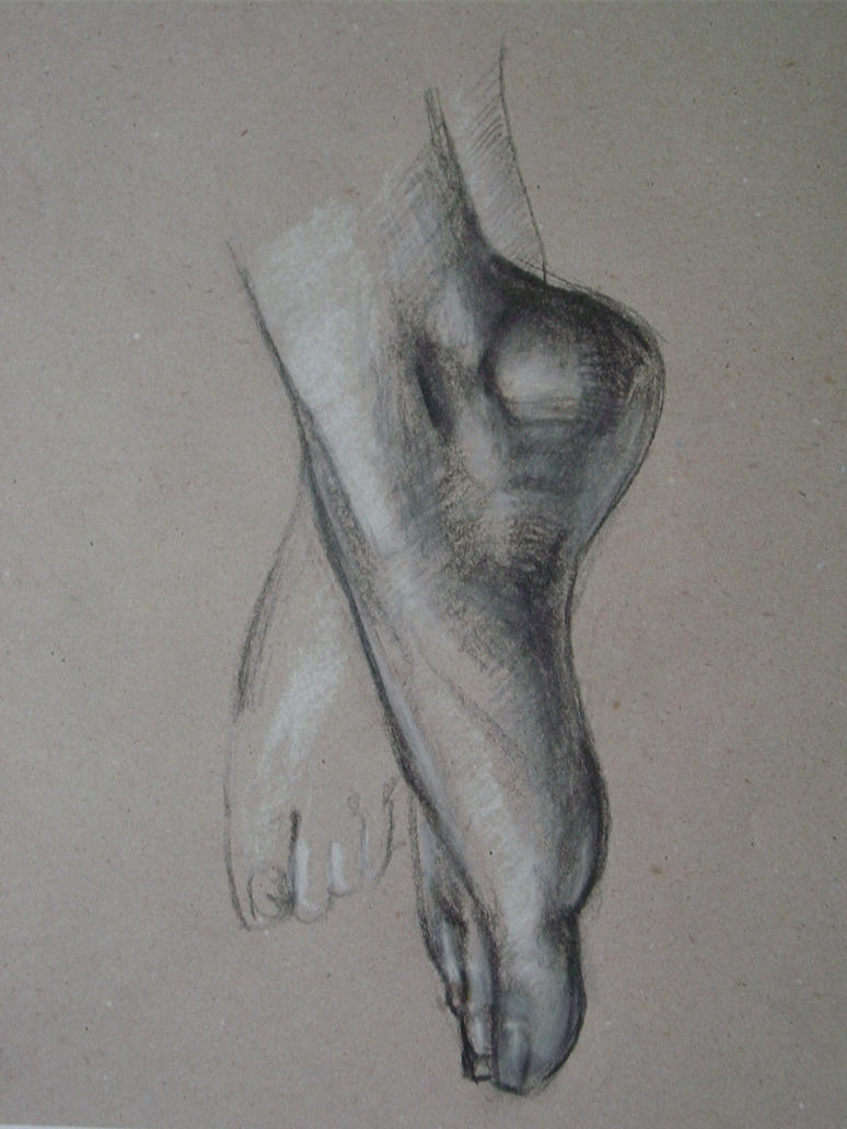 Feet study 1 by AEnigm4