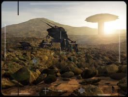 Alien rocks TESimage uncleaned by bvcastilho3D