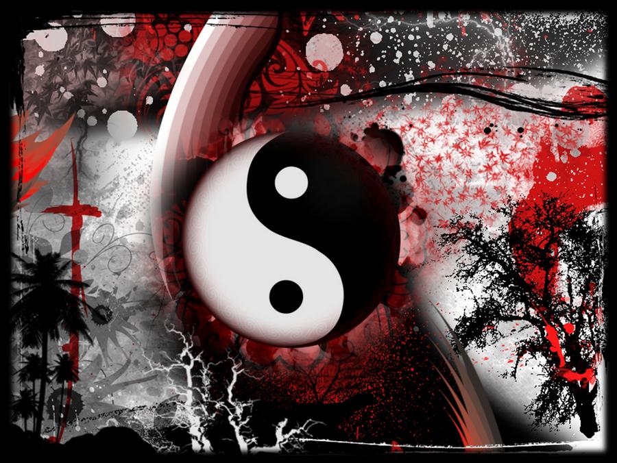 Black Red White Wallpaper By DeafbutforMusic