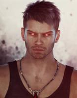 Portrait of a demon by Verahnika