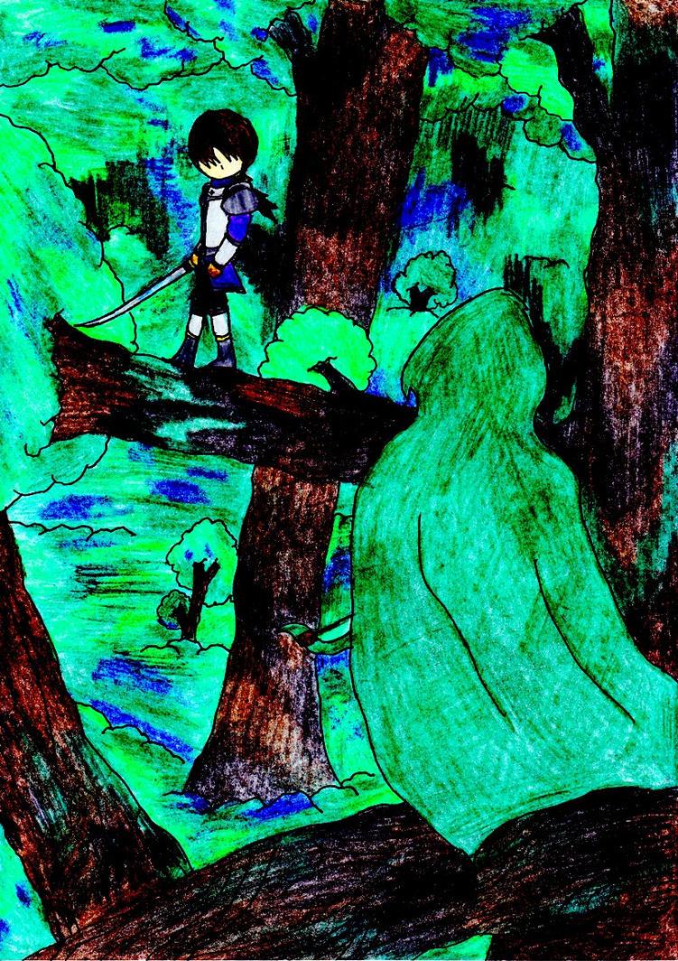 Battle Art: Jennifer by lordtrigonstar