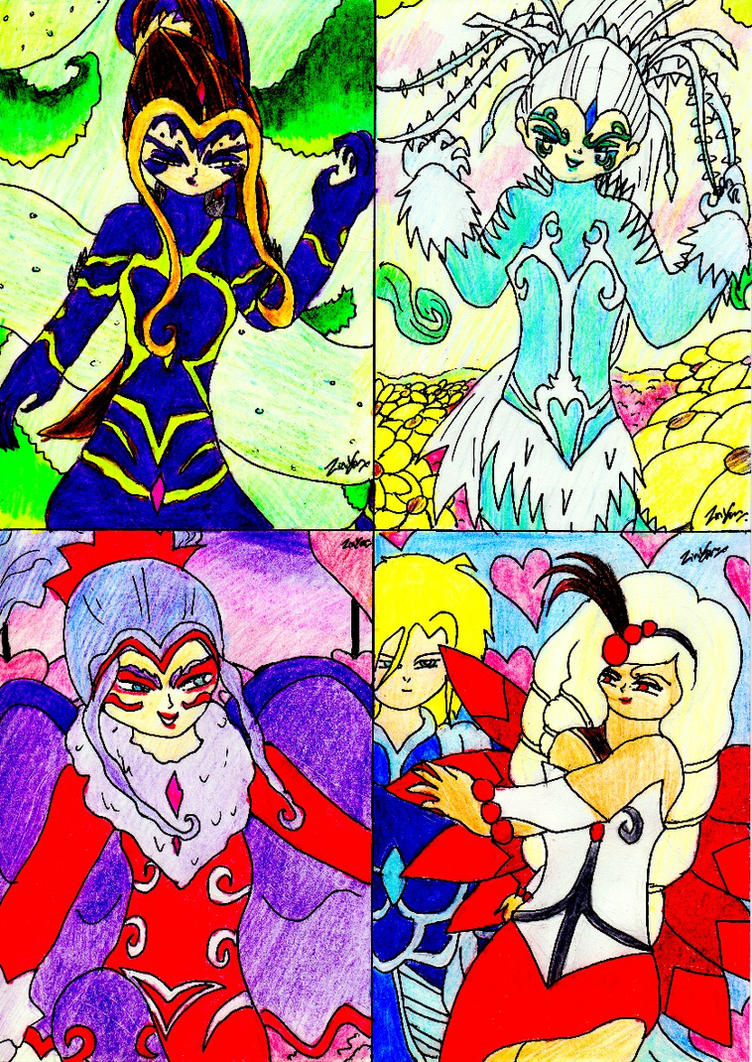 Artwork From Winx Club...