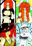 Artwork From DD Girls By Maelora69 9 by lordtrigonstar