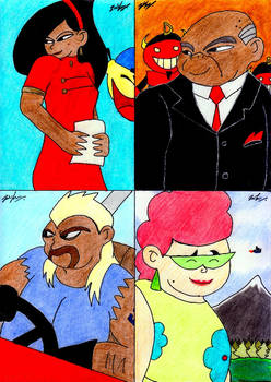 Artwork From Kim Possible 14