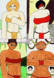 Artwork From Warriors Queen 9