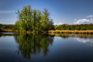 Lake Reflections by DudeFr0mTheHills
