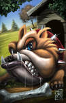 Butch the Bulldog by martinezdezign