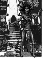 Aztec Priestess-Mummy by greyorm