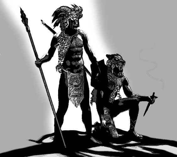 dead jaguar warrior by Daver2002ua on DeviantArt