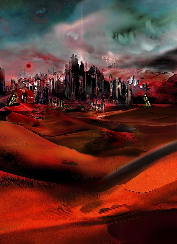 Fallen Mars by greyorm