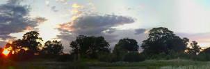 Walking One Beautiful Evening by greyorm