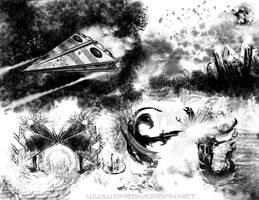 Vast and Starlit by greyorm