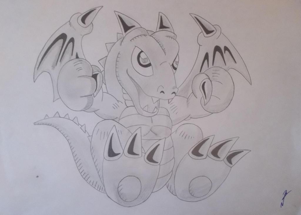 Baby Dragon (Yugioh) by RyuFujin4