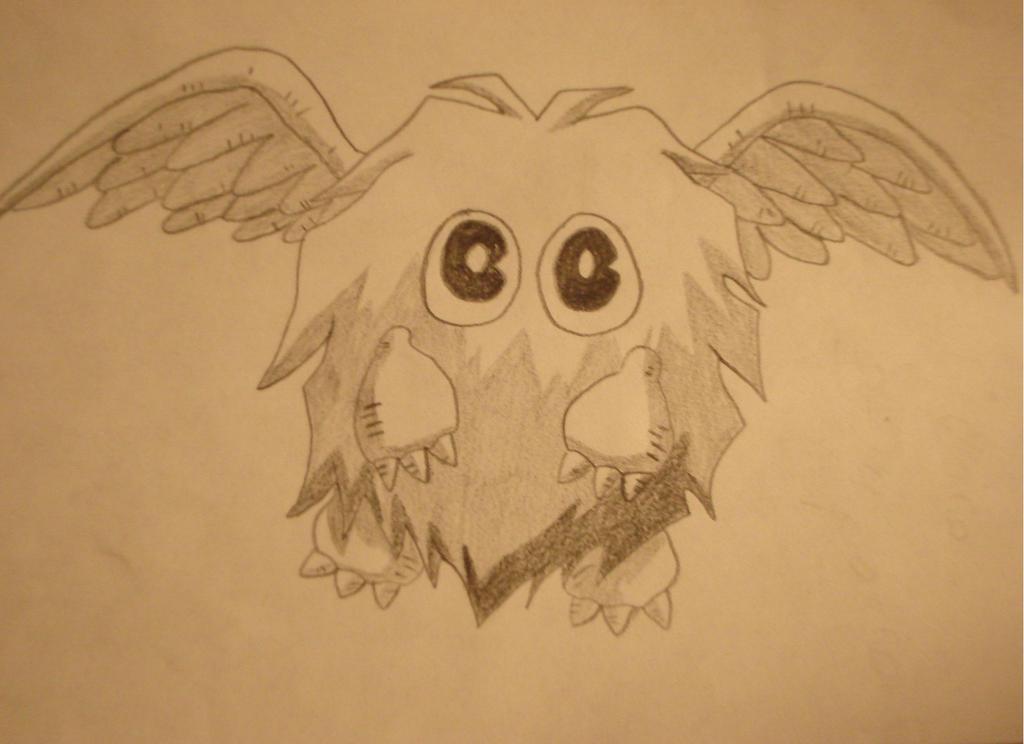 Winged Kuriboh (Yugioh) by RyuFujin4