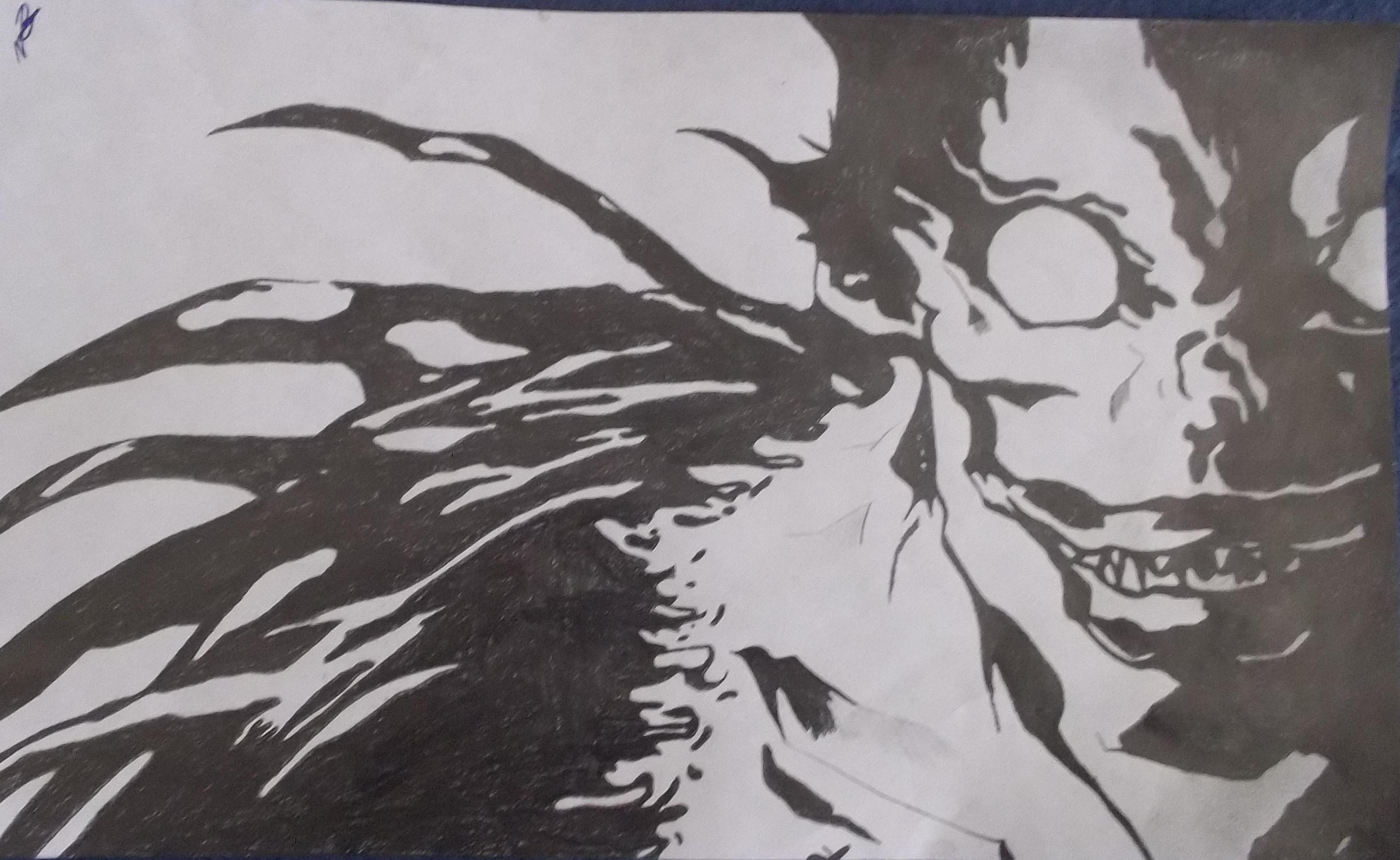Ryuk Death Note By Ryufujin4 On Deviantart