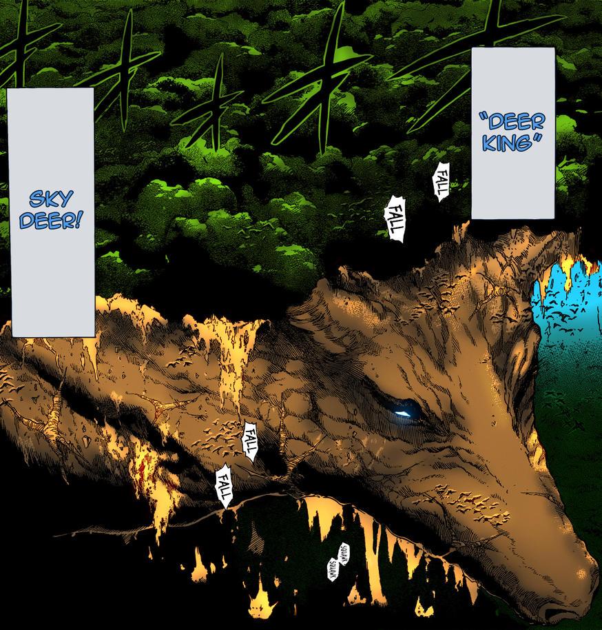 Deer King (Toriko) Invade Worm.