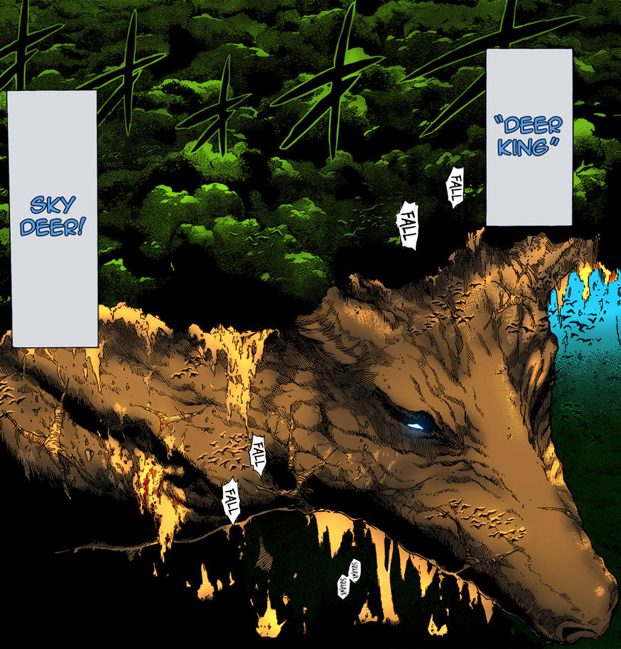 Deer King (Toriko) Vs Ssj2 Vegeta(bu Saga