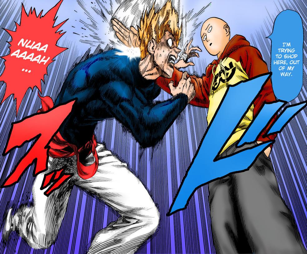 One Punch Man - Garou vs Saitama (1st Round) by Knight133 ...