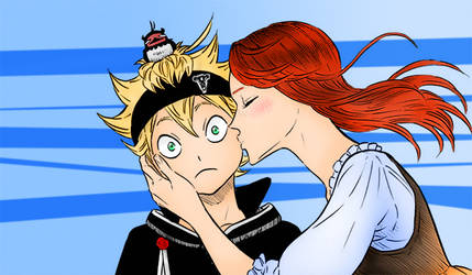 Black Clover - Kiss by Knight133