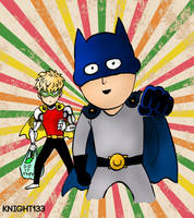 One Punch Man - Batman and Robin by Knight133