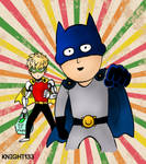 One Punch Man - Batman and Robin